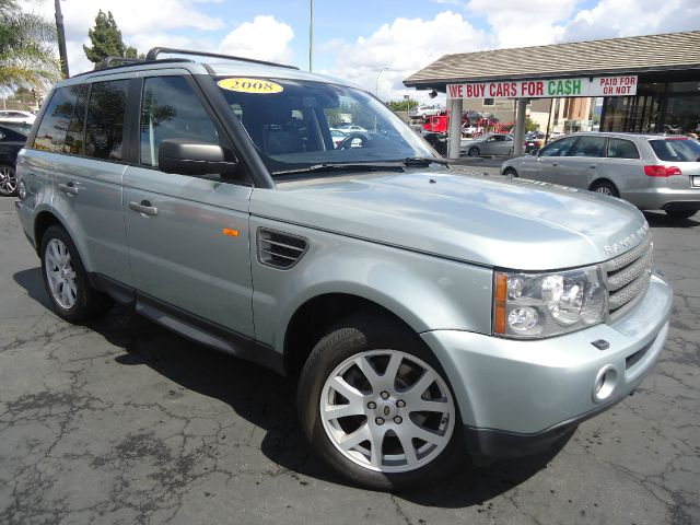 2008 LAND ROVER RANGE ROVER SPORT HSE 4X4 SUV ltgreen fully loaded navigationentertainment