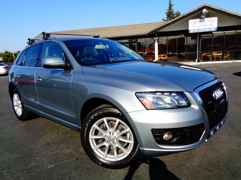2010 AUDI Q5 32 QUATTRO PREMIUM PLUS AWD 4DR gray cal car1 owner 2-stage unlocking doors
