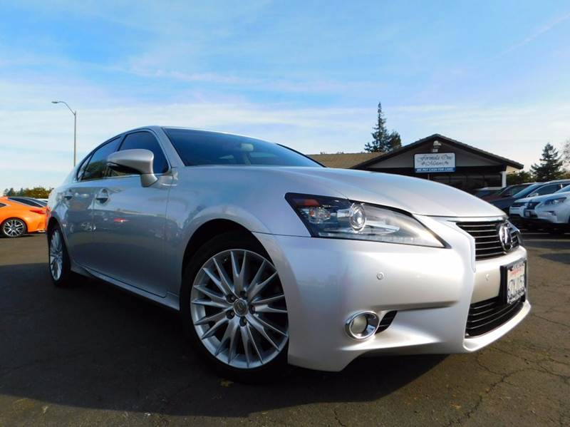 2013 LEXUS GS 350 BASE 4DR SEDAN silver 2-stage unlocking doors abs - 4-wheel active head restr