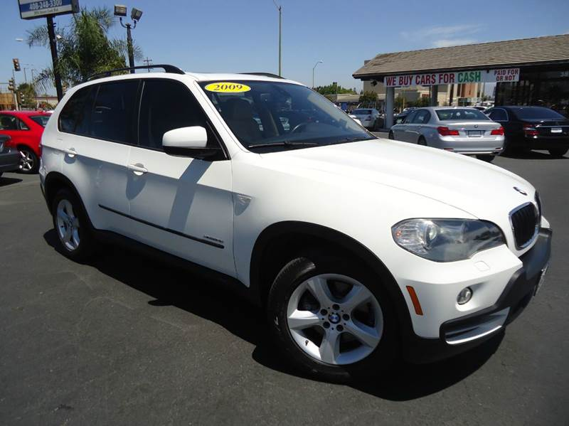 2009 BMW X5 XDRIVE30I AWD 4DR SUV white loaded clean carfax excellent color combination eq