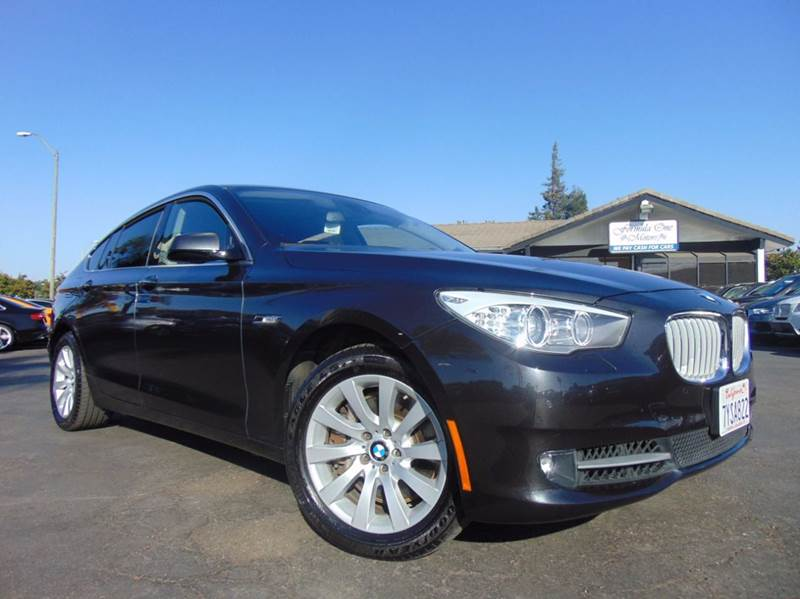 2011 BMW 5 SERIES 550I XDRIVE GRAN TURISMO AWD 4DR gray clean carfax history reportall schedu