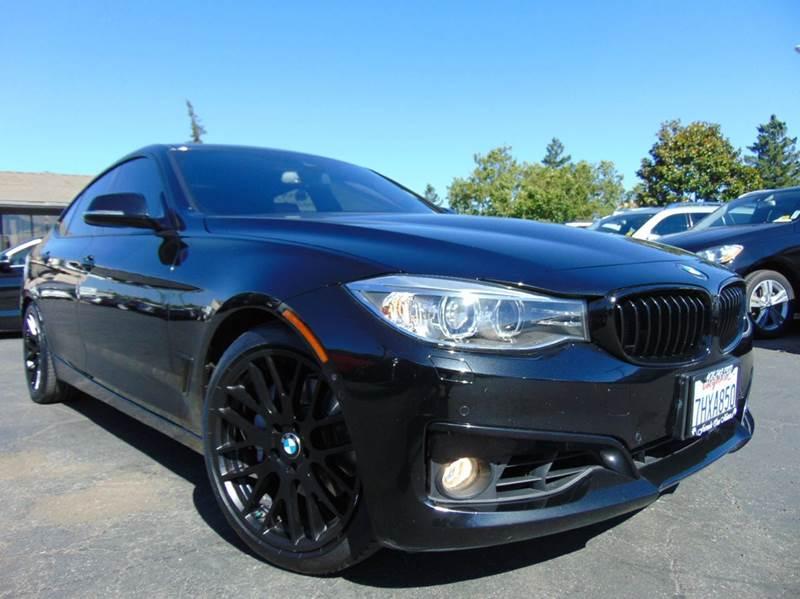 2014 BMW 3 SERIES 335I XDRIVE GRAN TURISMO AWD 4DR black one ownerclean carfaxcalifornia v