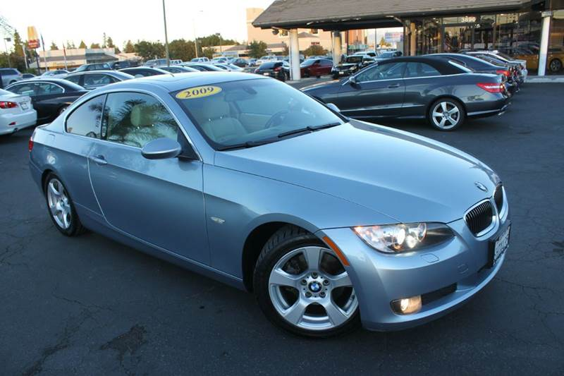 2009 BMW 3 SERIES 328I 2DR COUPE metallic blue 2-stage unlocking doors abs - 4-wheel active hea