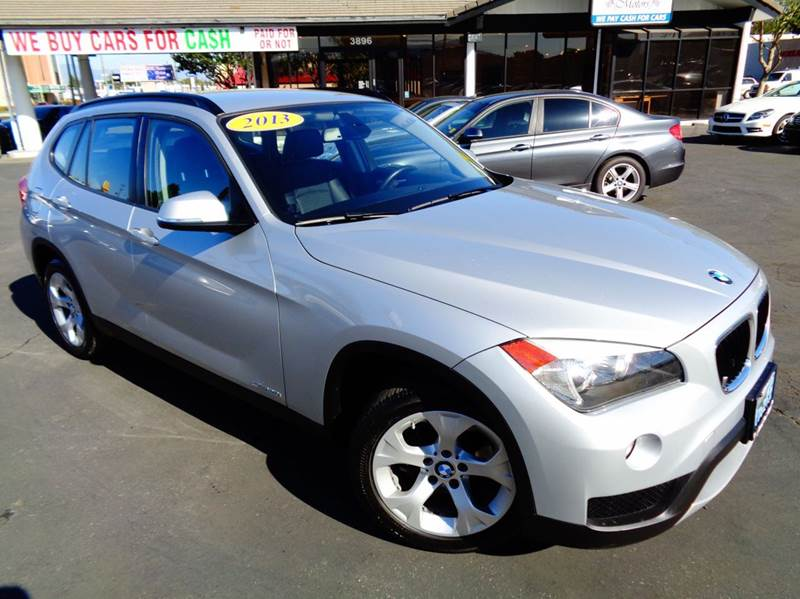 2013 BMW X1 SDRIVE28I 4DR SUV silver 1 owner clean carfax luxurious reliable and performan