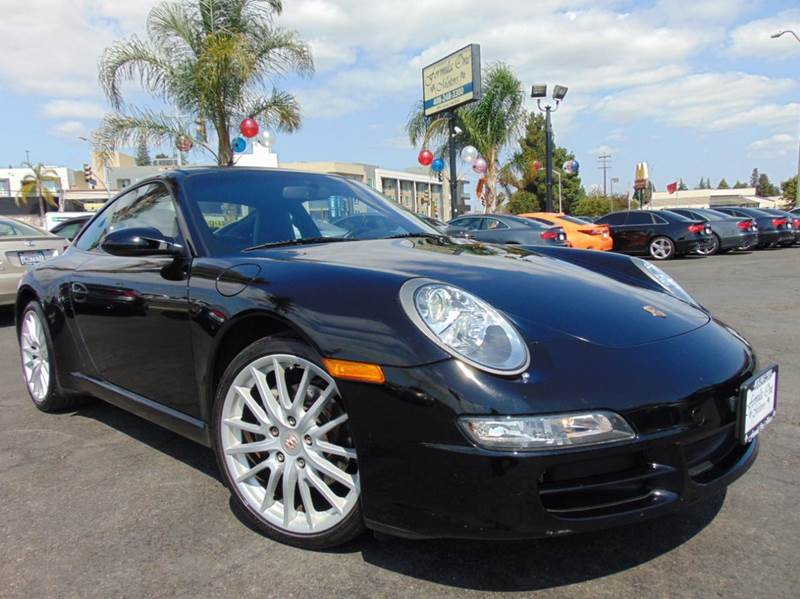 2005 PORSCHE 911 CARRERA 2DR COUPE black abs - 4-wheel alloy wheels anti-theft system - alarm