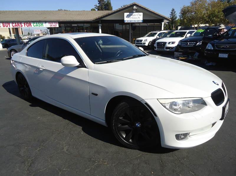 2011 BMW 3 SERIES 328I 2DR COUPE SULEV white 1 owner clean carfax rare and beautiful pearl