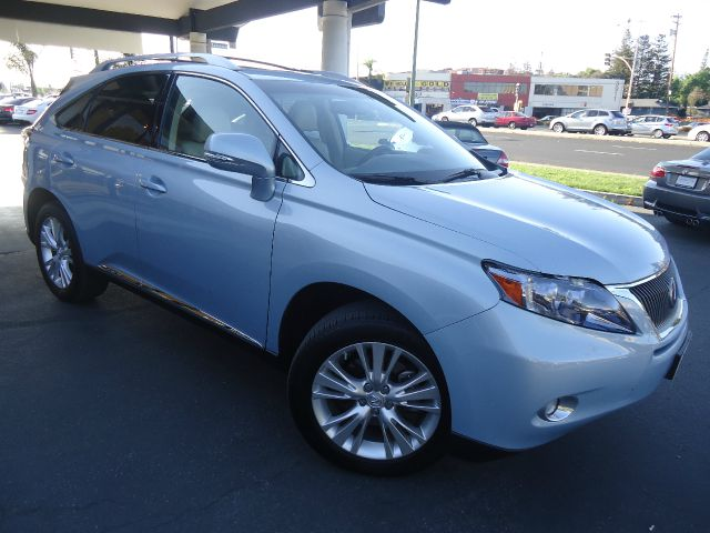 2012 LEXUS RX 450H AWD 4DR SUV light blue navigation  gps leather awd carfax one owner bluet