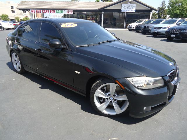2009 BMW 3 SERIES 335I 4DR SEDAN black 1 owner clean car fax navigation sport pkg premium pkg sun