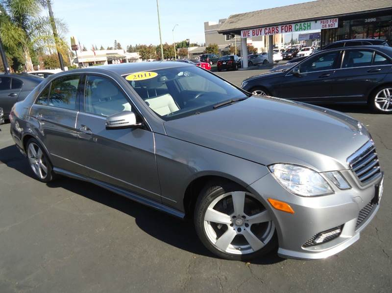 2011 MERCEDES-BENZ E-CLASS E350 SPORT 4DR SEDAN silver super clean 1 owner clean carfax