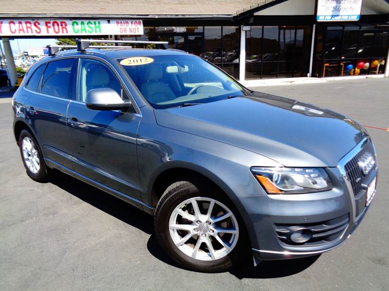 2012 AUDI Q5 20T QUATTRO PREMIUM PLUS AWD 4D gray clean california vehicle  premium plus packa