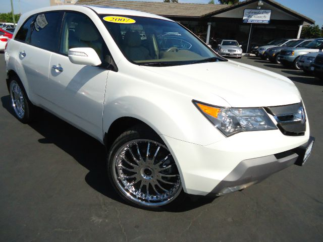 2007 ACURA MDX TECH PKG taffeta white the 2007 acura mdx benefits from excellent all-wheel drive a