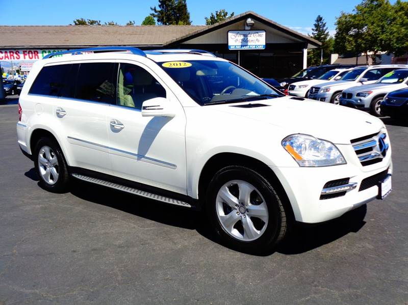 2012 MERCEDES-BENZ GL-CLASS GL450 4MATIC AWD 4DR SUV white 2-stage unlocking doors 4wd type - ful
