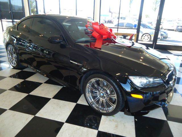 2010 BMW M3 COMPETITION M3 2DR COUPE black clean car fax heated front seats19 forged and polish