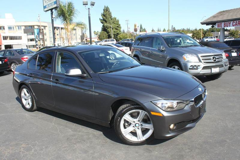2014 BMW 3 SERIES 320I 4DR SEDAN gray this is a 1 owner clean  car fax  2014 bmw 320i in great co