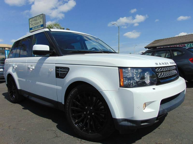 2013 LAND ROVER RANGE ROVER SPORT HSE LUX 4X4 4DR SUV white one ownerclean carfaxcaliforni