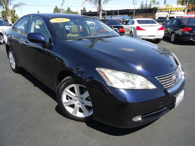 2007 LEXUS ES 350 SEDAN blue onyx pearl one owner california clean car fax car in extra clean cond