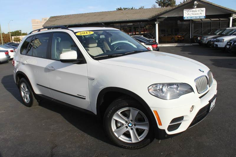2012 BMW X5 XDRIVE35D AWD 4DR SUV white 30 liter twin turbo all wheel drive dieselclean carfax