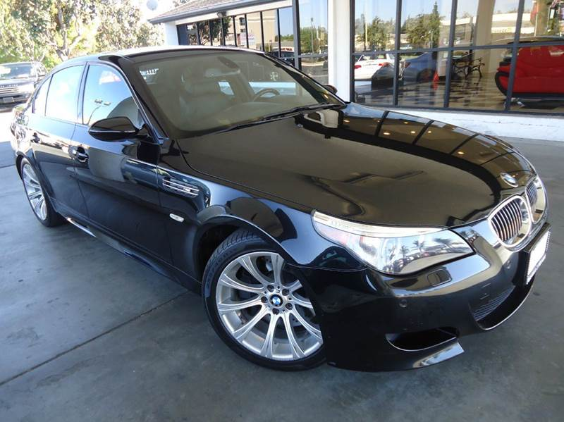 2006 BMW M5 BASE 4DR SEDAN black abs - 4-wheel active suspension air filtration airbag deactiv