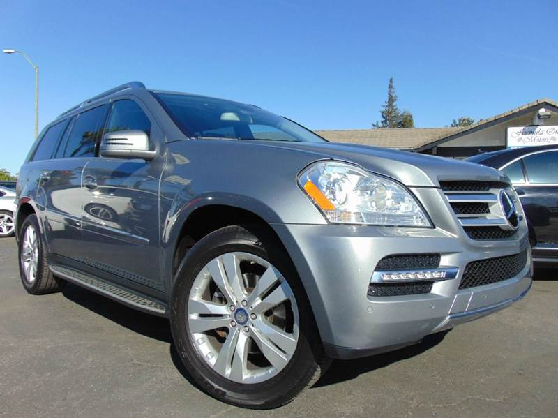 2012 MERCEDES-BENZ GL-CLASS GL 450 4MATIC AWD 4DR SUV gray 2-stage unlocking doors 4wd type - ful