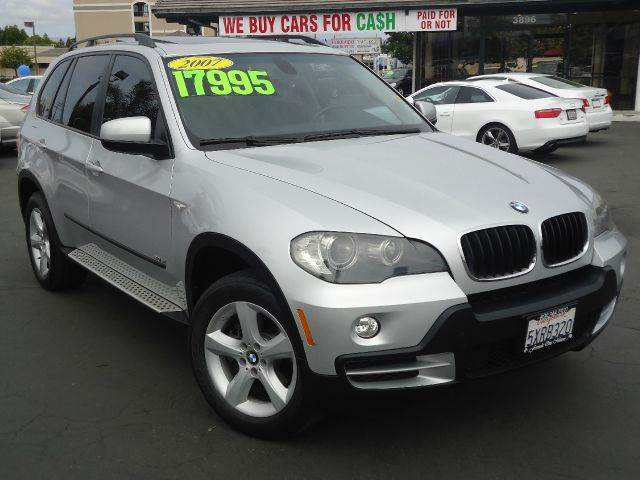 2007 BMW X5 30SI AWD 4DR SUV silver clean car fax  sportnavigation panoramic moon roo
