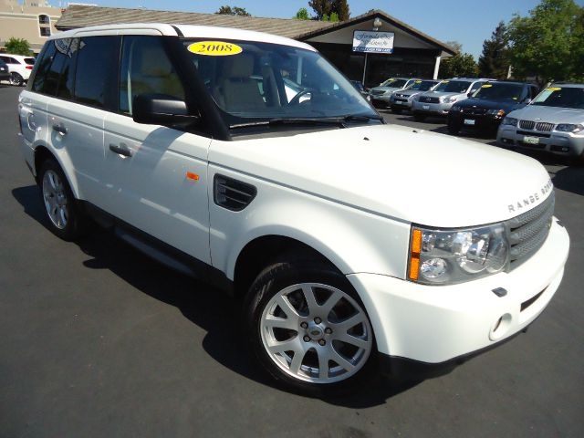 2008 LAND ROVER RANGE ROVER SPORT HSE LUXURY chawton white luxury interior package - bucket heated