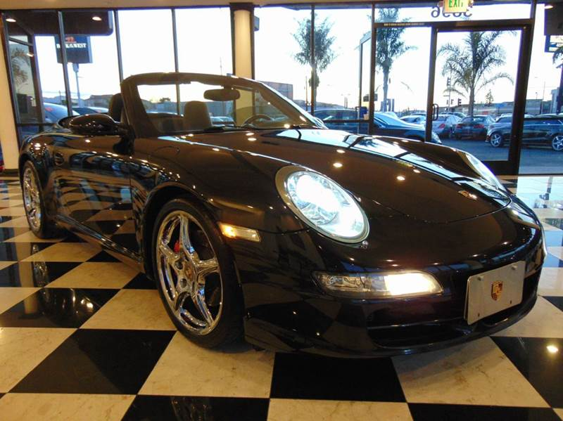 2008 PORSCHE 911 CARRERA S 2DR CONVERTIBLE black clean carfaxcalifornia vehicle 38l 355hp