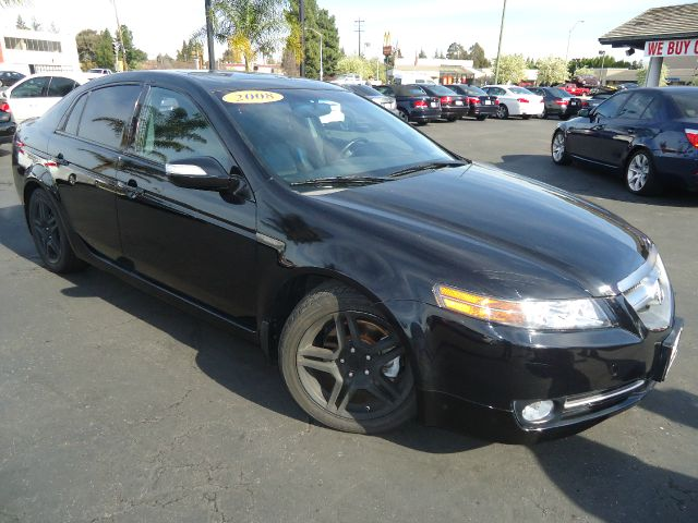 2008 ACURA TL BASE WNAVI 4DR SEDAN WNAVIGATI black california carfully loaded  tech p