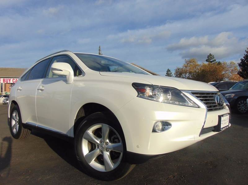 2015 LEXUS RX 350 BASE 4DR SUV white 2-stage unlocking doors abs - 4-wheel active head restraint