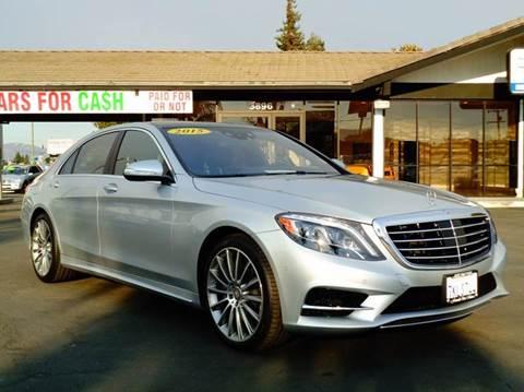 2015 Mercedes-Benz S-Class for sale in San Jose, CA