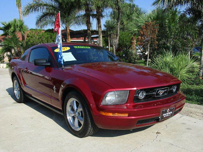 Ford Mustang V Deluxe Dr Fastback In BROWNSVILLE TX - 2007 mustang