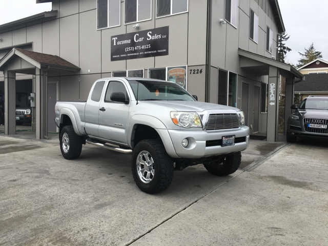 2008 toyota tacoma 4x2 prerunner v6 4dr access cab 6 1 ft sb 5a in tacoma wa tacoma car sales. Black Bedroom Furniture Sets. Home Design Ideas