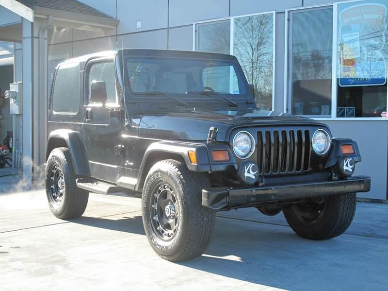 1997 Jeep Wrangler 2dr Sport 4wd Suv In Tacoma Wa Tacoma