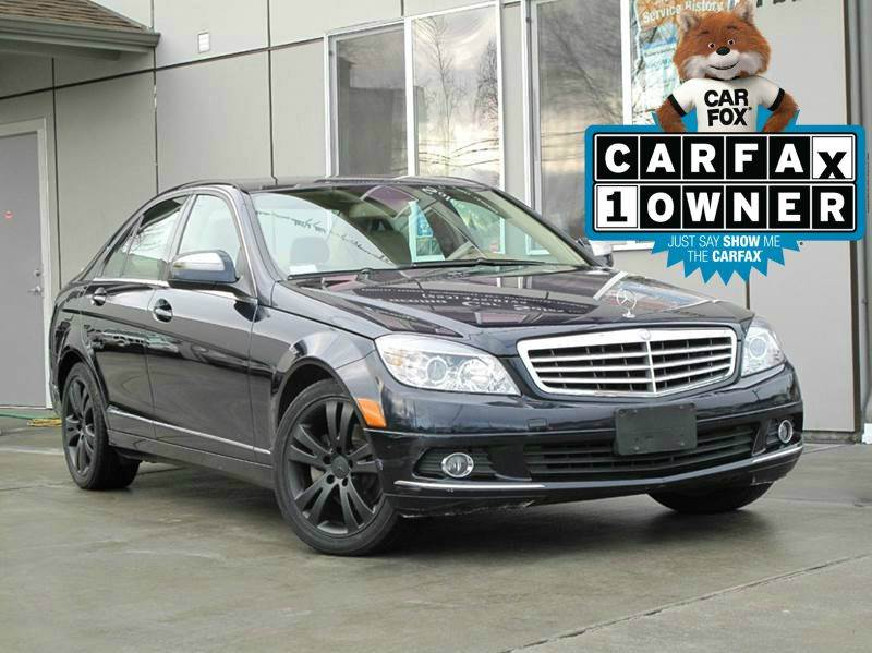 2008 mercedes benz c class awd c300 luxury 4matic 4dr for Mercedes benz of tacoma
