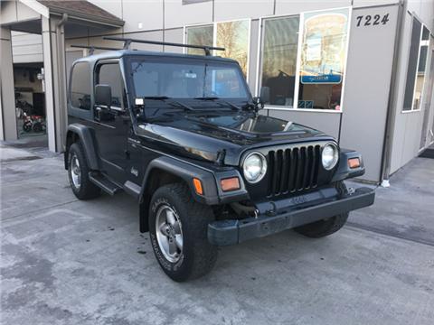 1997 Jeep Wrangler for sale in Tacoma, WA