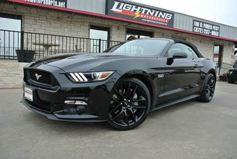 2015 Ford Mustang for sale in Grand Prairie, TX