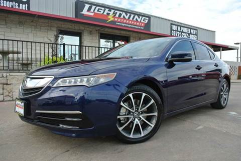 2015 Acura TLX for sale in Grand Prairie, TX
