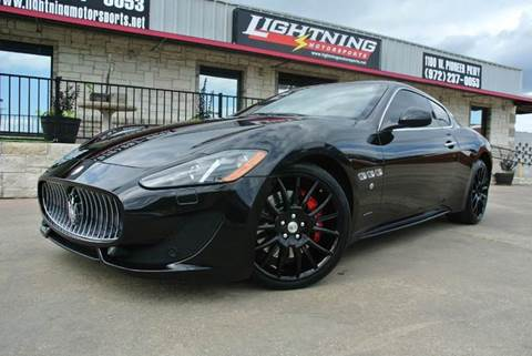 2013 Maserati GranTurismo for sale in Grand Prairie, TX