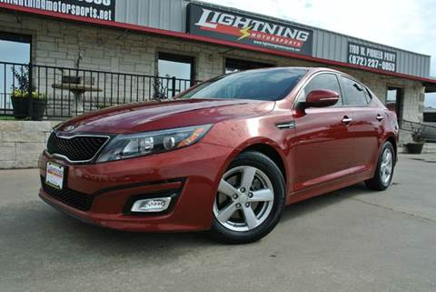 2015 Kia Optima for sale in Grand Prairie, TX