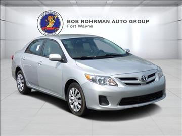 Toyota Corolla For Sale Fort Wayne In