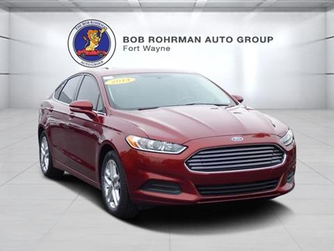 2014 ford fusion for sale in fort wayne in. Black Bedroom Furniture Sets. Home Design Ideas