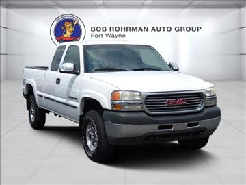 2001 GMC Sierra 2500HD for sale in Fort Wayne, IN