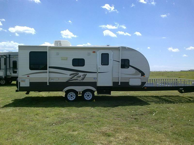 2015 Thor Crossroads 29' Pull Behind Toy Hauler