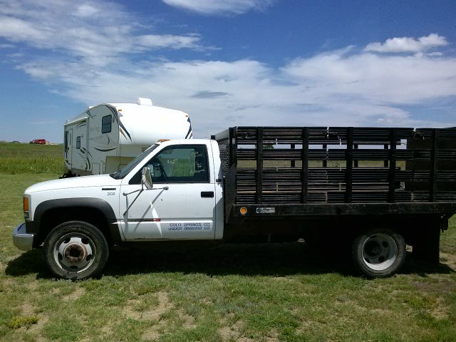 1992 GMC 12' Flatbed Truck 3500HD Stake Sides/Lift