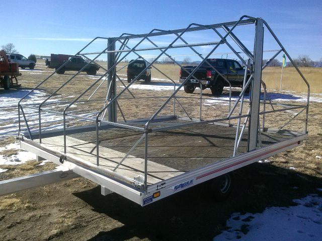 1998 Snowmobile Trailer Eagle AW-10