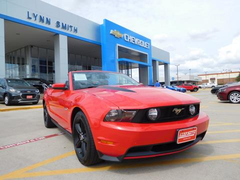 2011 Ford Mustang for sale in Burleson TX
