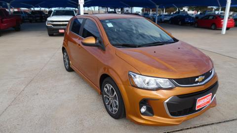 2017 Chevrolet Sonic for sale in Burleson TX