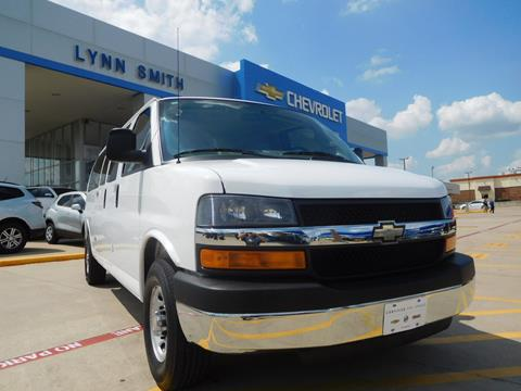 2016 Chevrolet Express Passenger for sale in Burleson TX