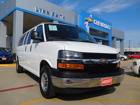 2017 Chevrolet Express Passenger for sale in Burleson TX