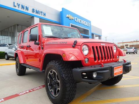 2016 Jeep Wrangler Unlimited for sale in Burleson, TX