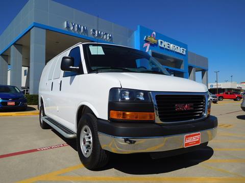 2016 GMC Savana Cargo for sale in Burleson TX